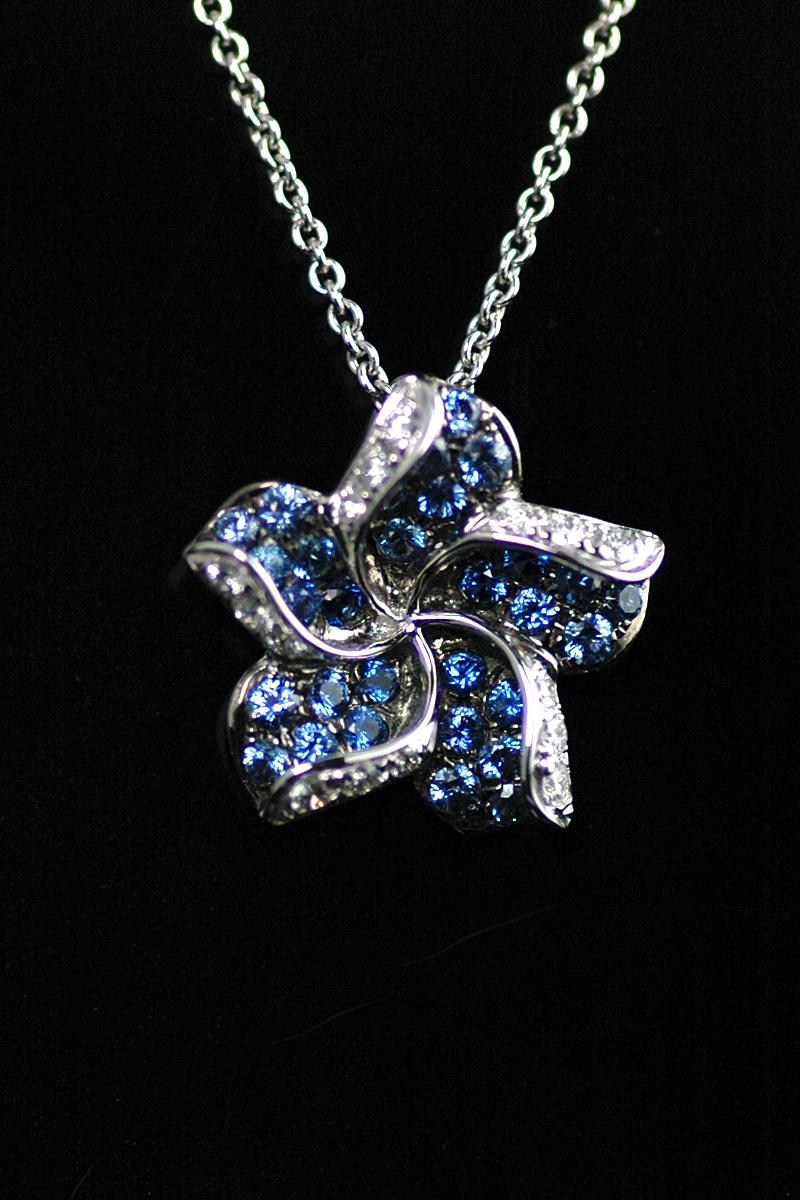 68800 sapphire diamond pendant 1