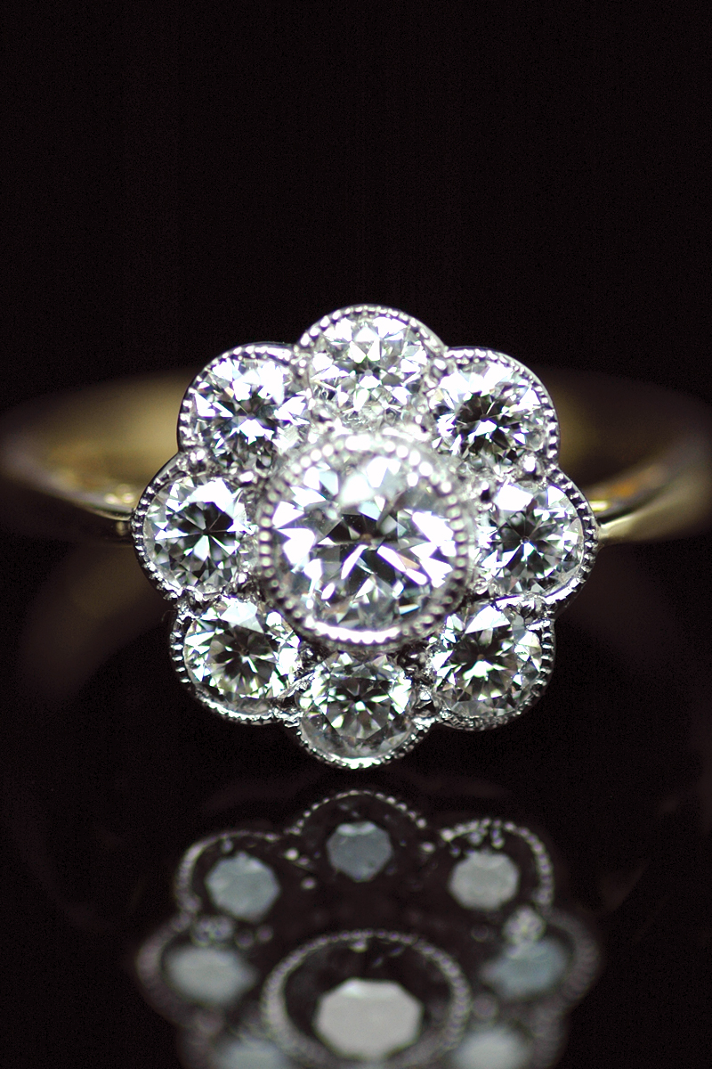 ITEM OF THE WEEK: Diamond Cluster Ring