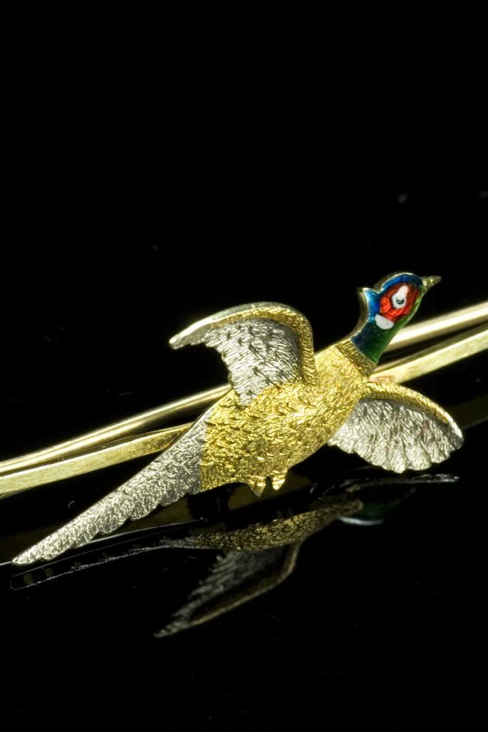 Item of the Week: Pheasant Brooch