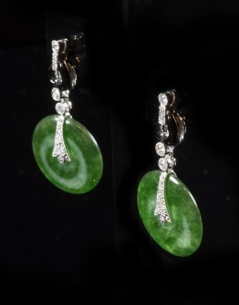 ITEM OF THE WEEK: Jade Earrings
