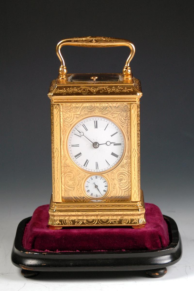 IB 4028 carriage clock 6