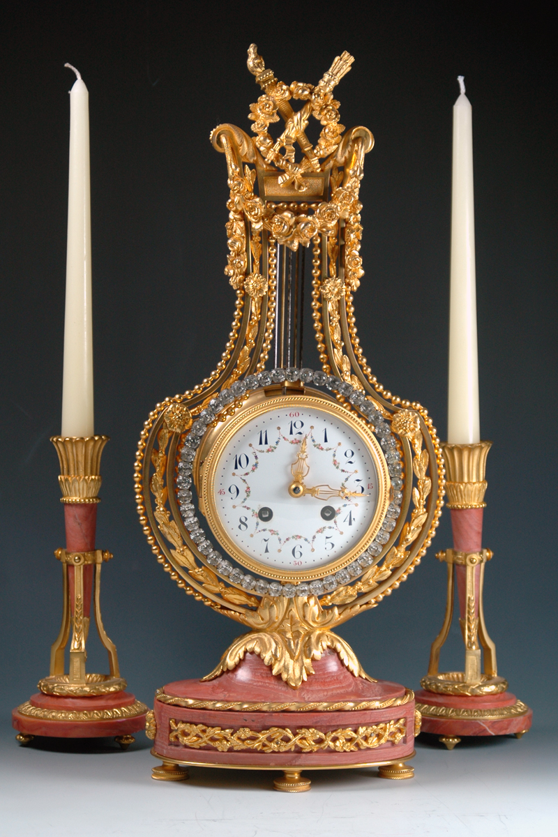 ITEM OF THE WEEK: Lyre Clock