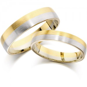 house-of-williams-5mm-satin-finish-flat-wedding-band-in-9-ct-yellow-and-white-gold