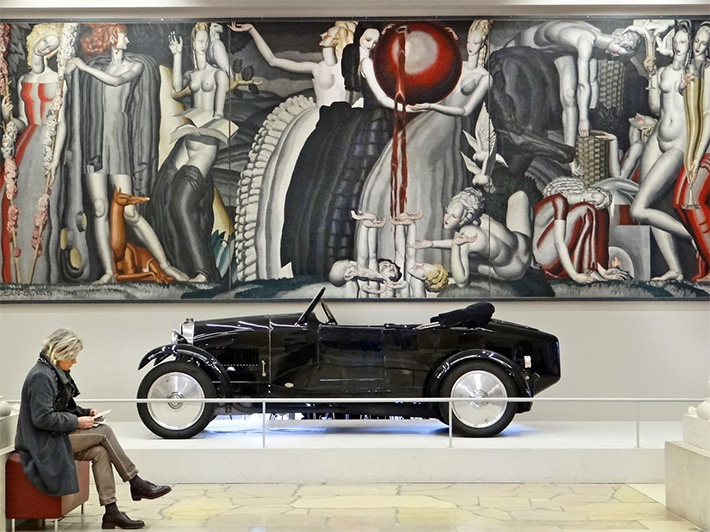 Mural by Jean Dupas from the 1925 Paris International Exhibition