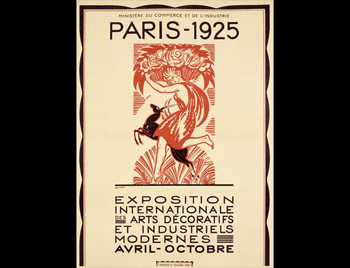 Paris 1925 International Exhibition Poster