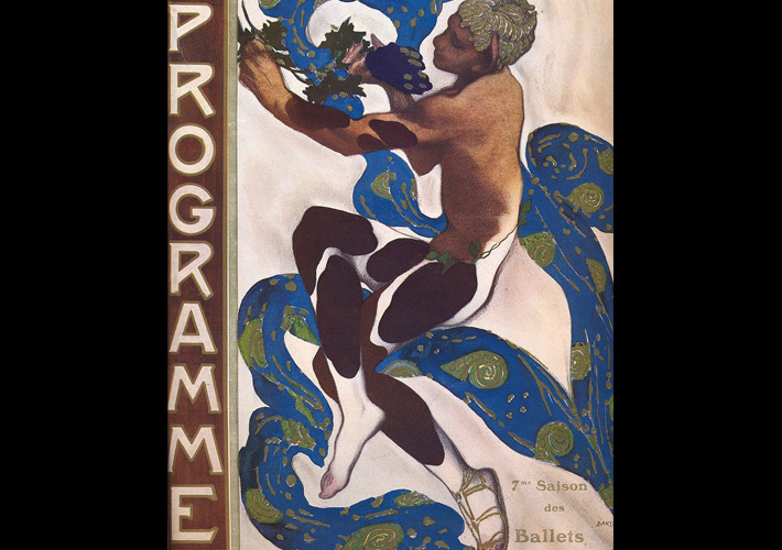Ballets Russes by Leon Bakst, 1912 - a key influence on Art Deco jewellery