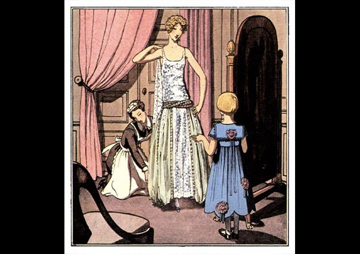 Illustration from La Gazette du Bon Ton, 1922