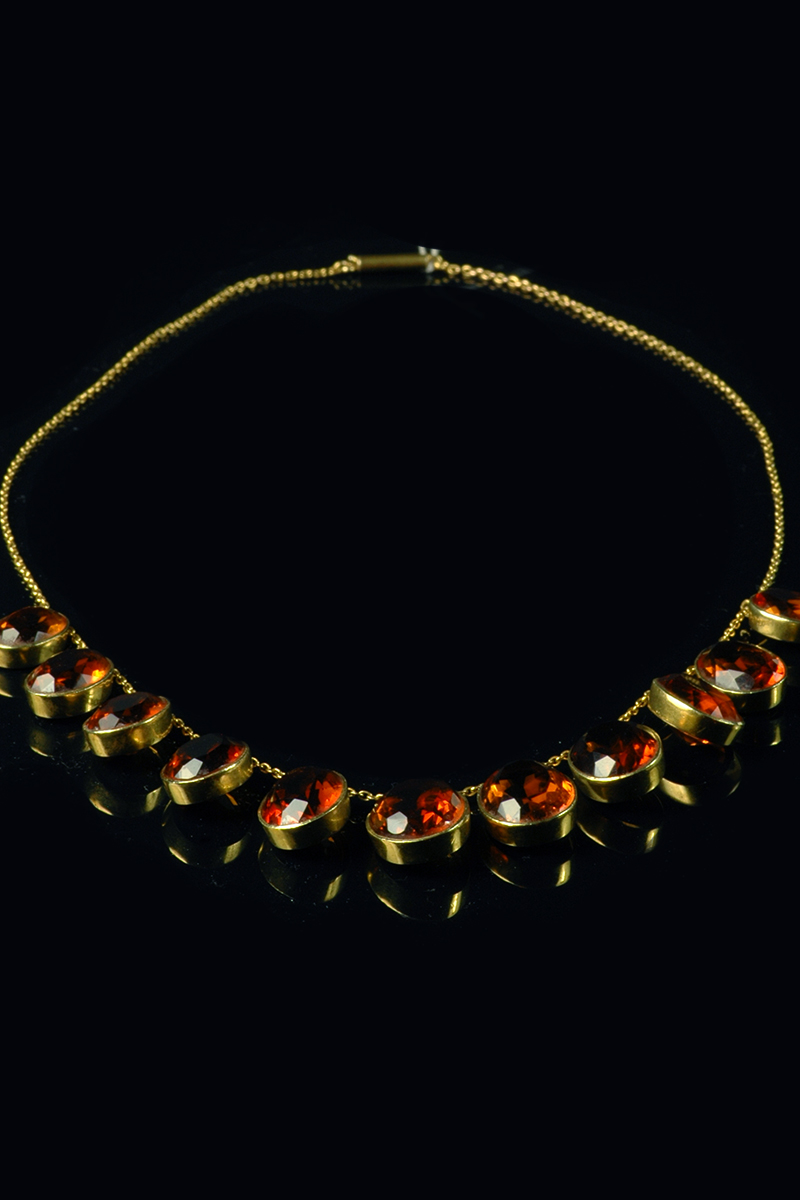 citrine necklet1