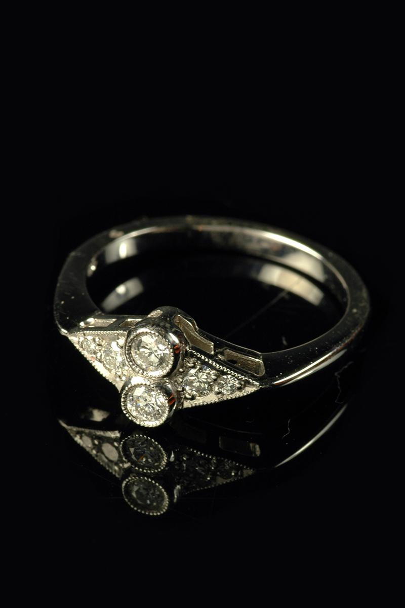 diamond cluster ring2