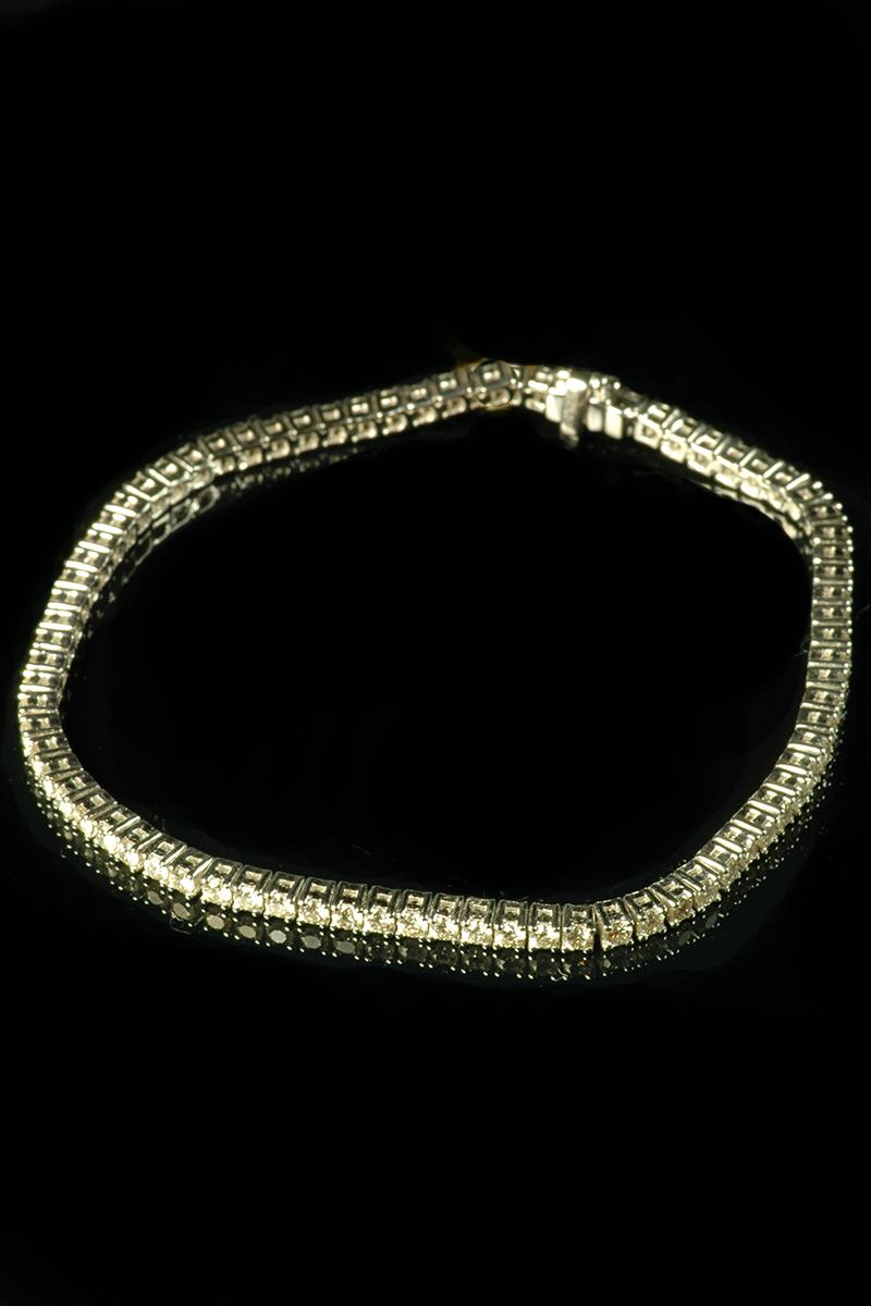 diamond line bracelet 2