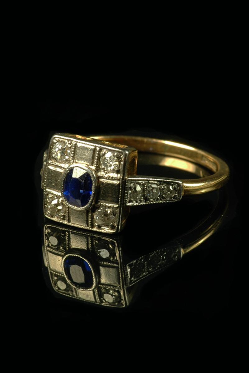 sapphire diamond ring 1