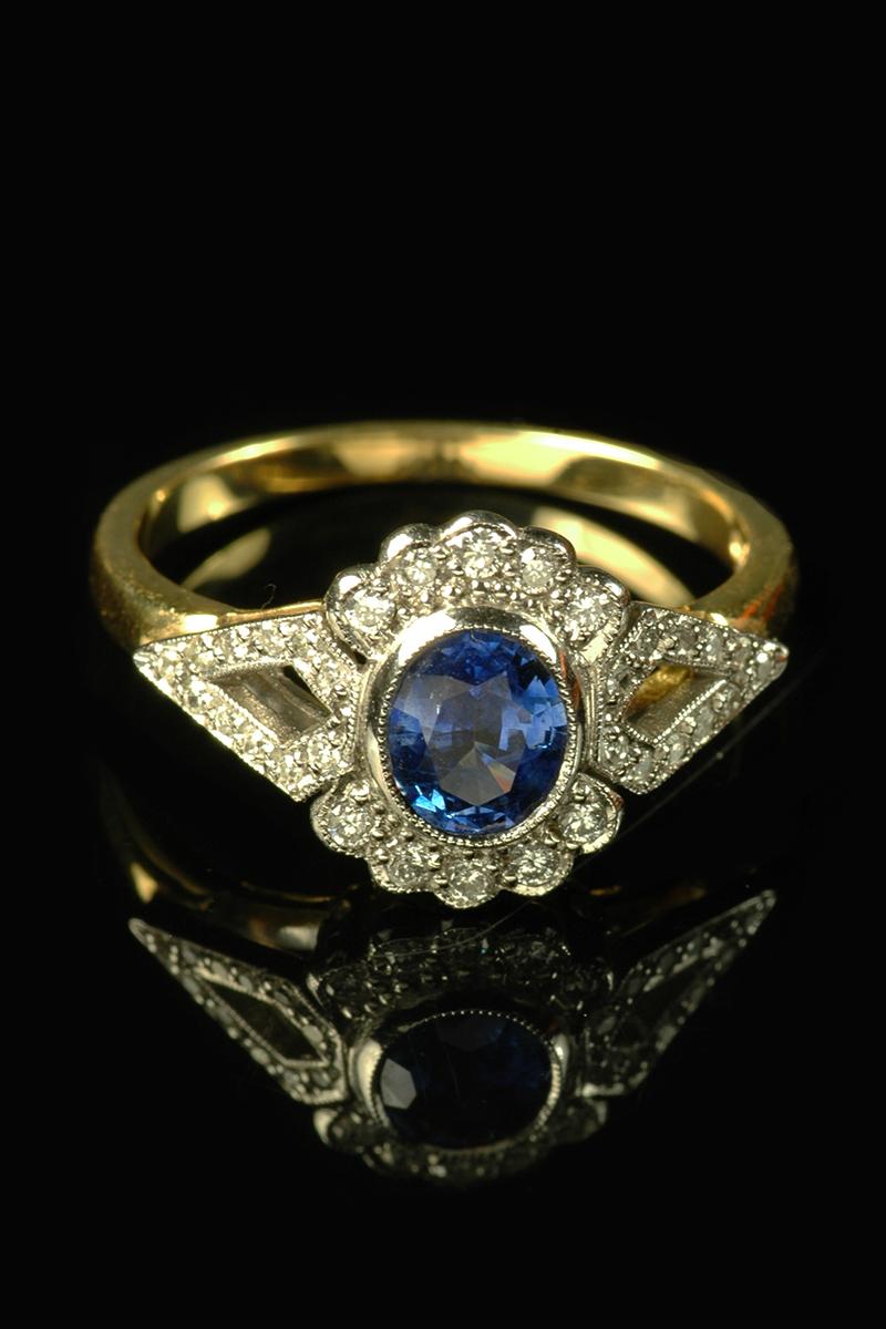 sapphire diamond ring1