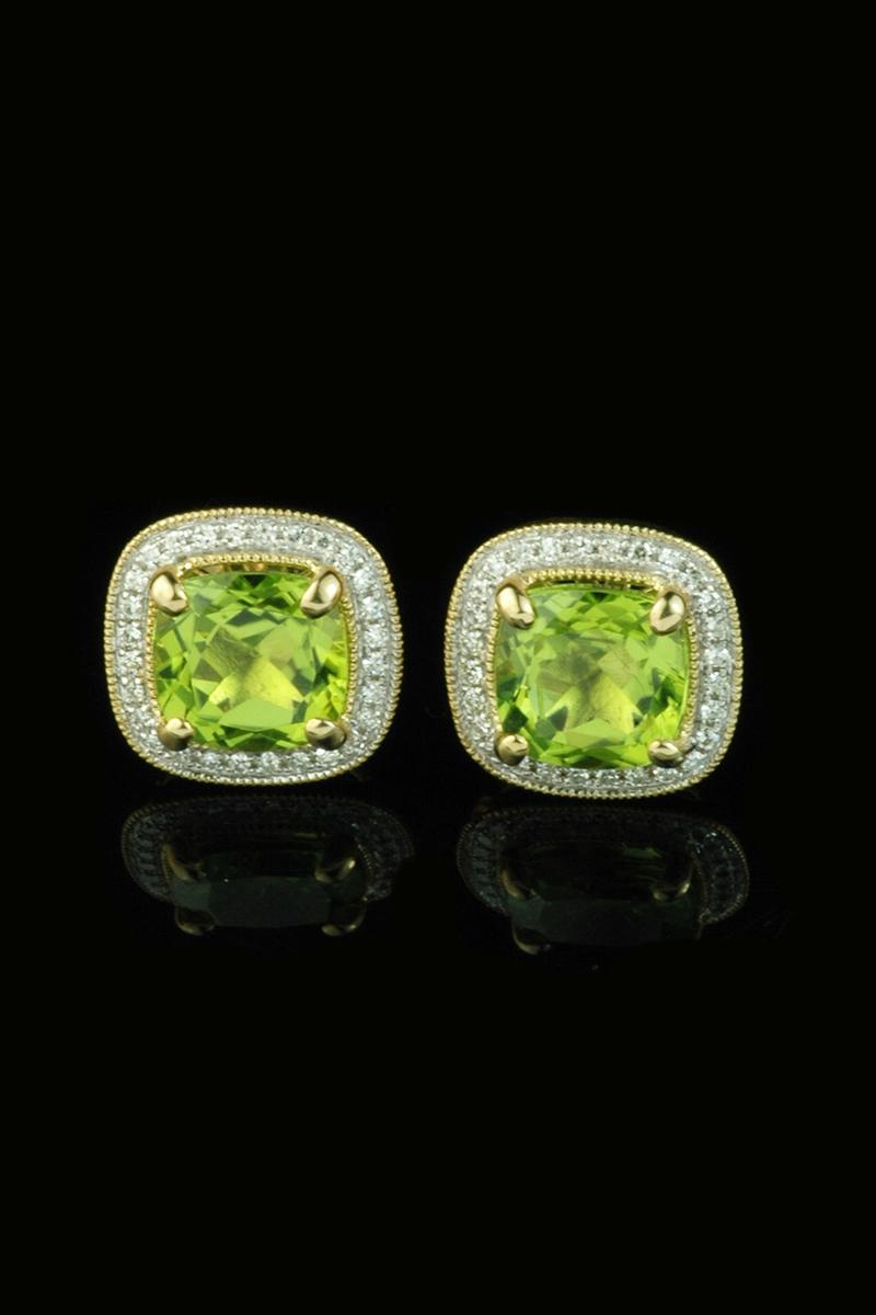 peridot and diamond earrings3