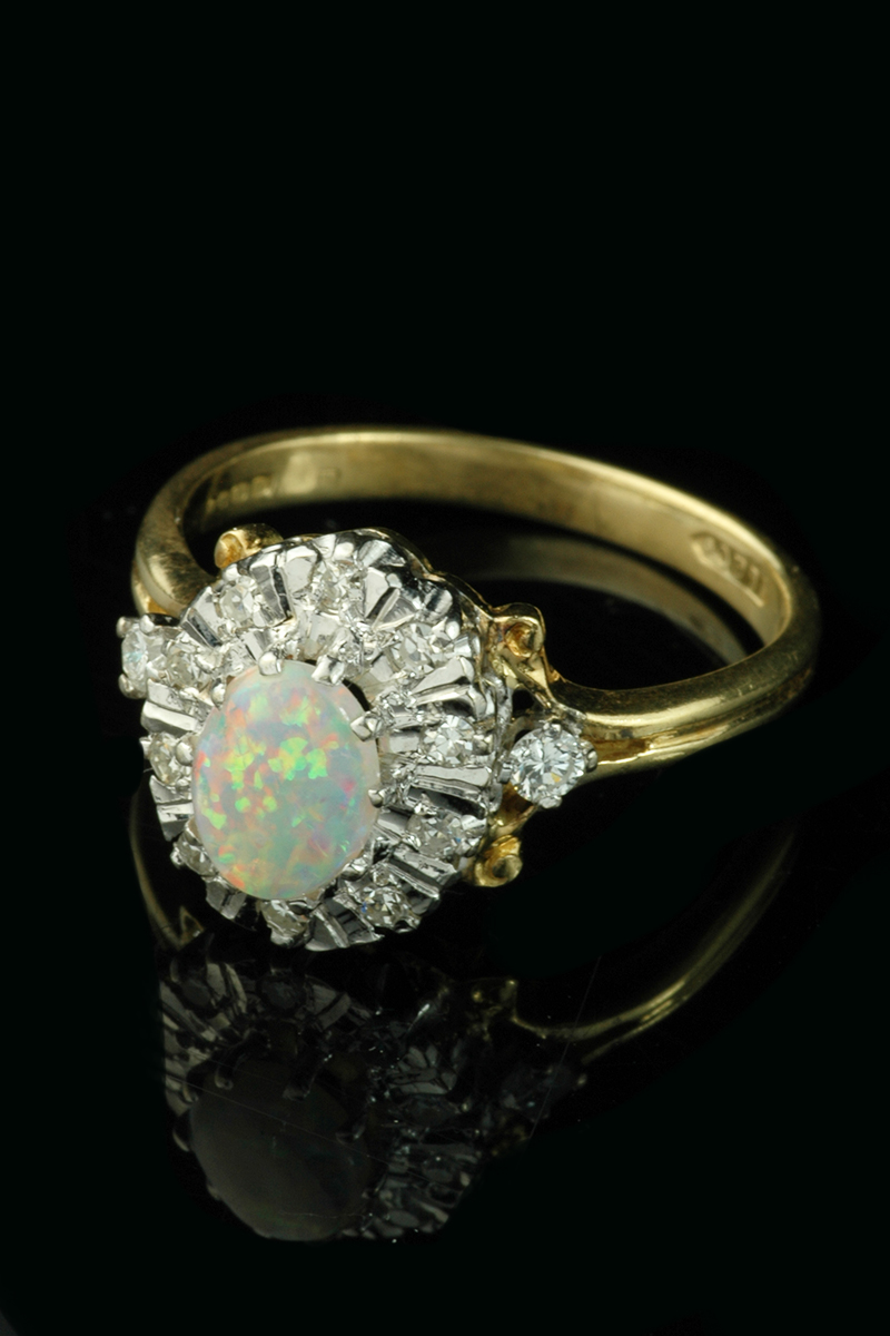 opal cluster ring2