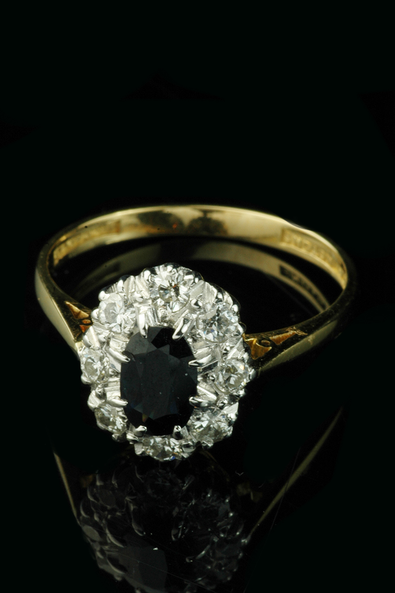 sapphire cluster ring1