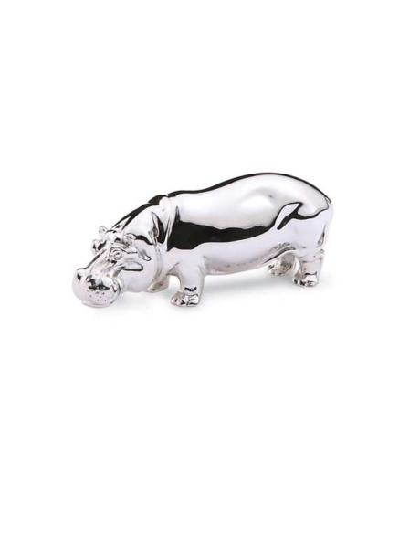 silver-hippopotamus
