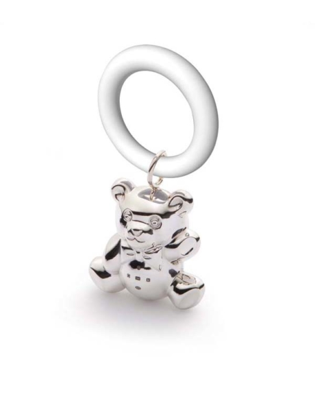 silver-teddy-tinkling-teething-ring